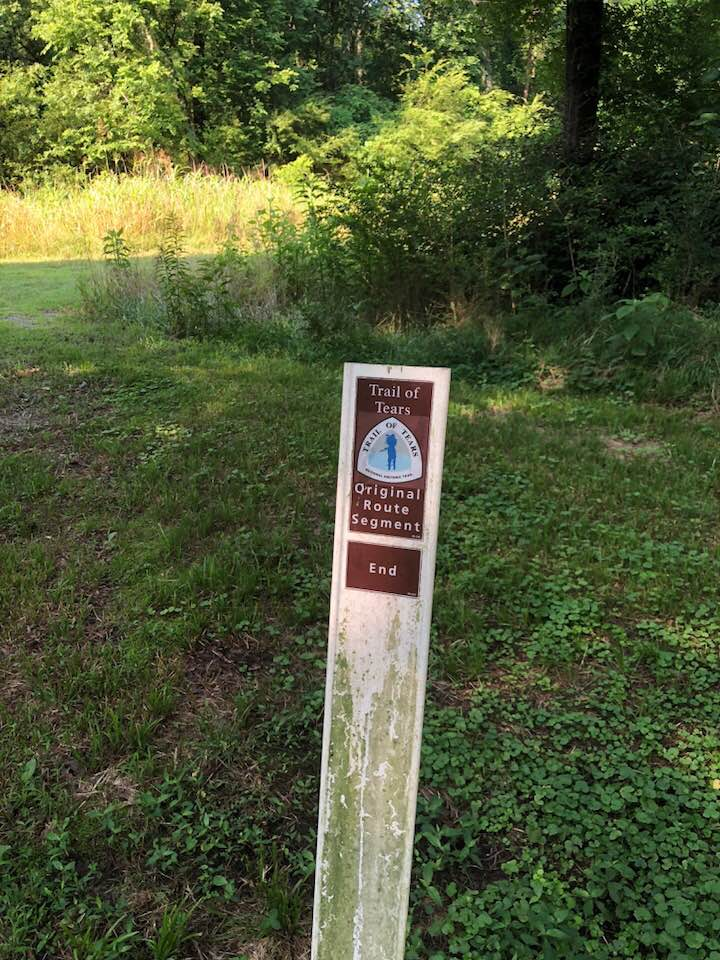 trail of tears marker